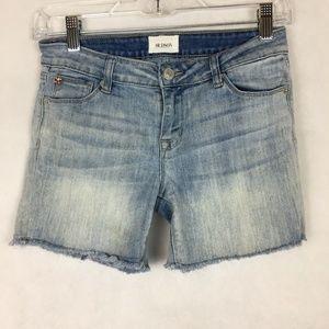 Hudson Cutoff Jean Denim Shorts Light Wash Size 0